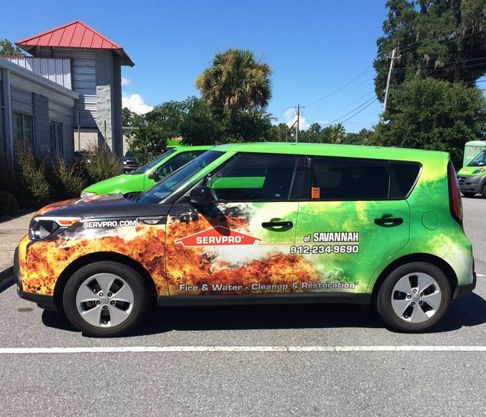 SERVPRO of Savannah Vehicle