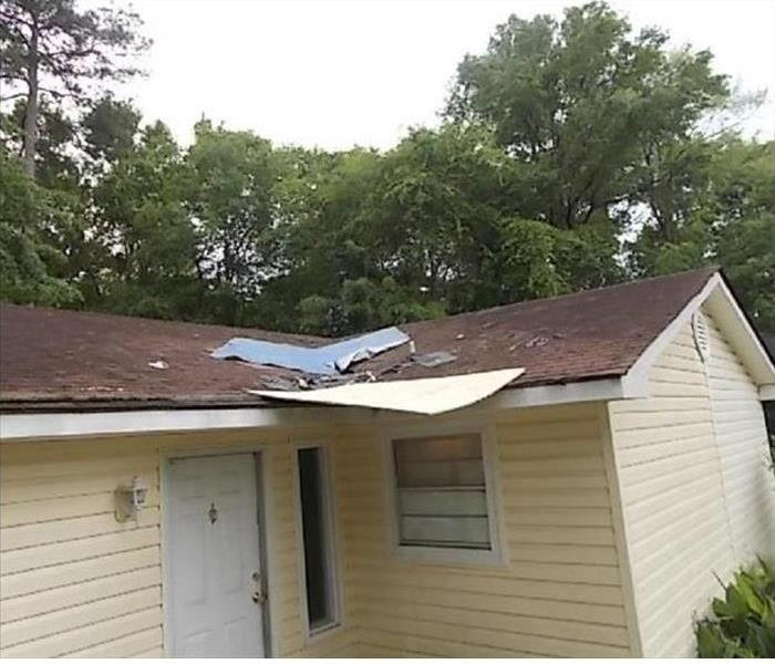 Storm Damage to Savannah Roof