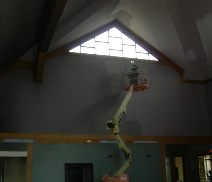 Smoke Damage to Savannah Church