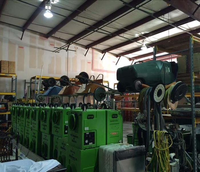 SERVPRO of Savannah Warehouse Area