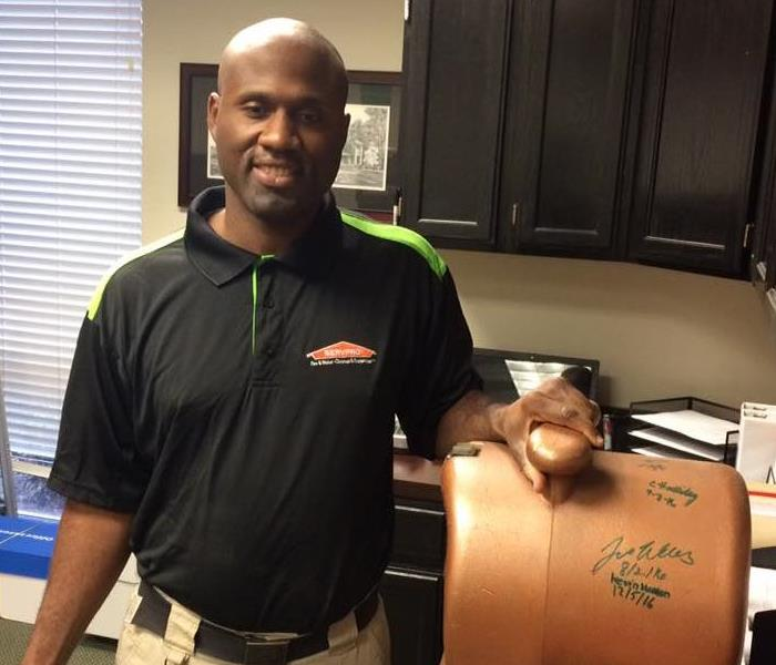 General SERVPRO of Savannah Employee of the Month